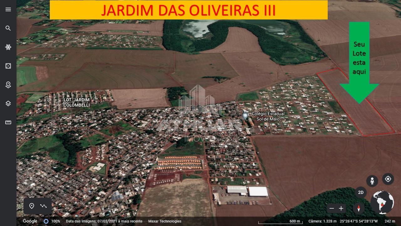TERRENOS NO JARDIM DAS OLIVEIRAS III