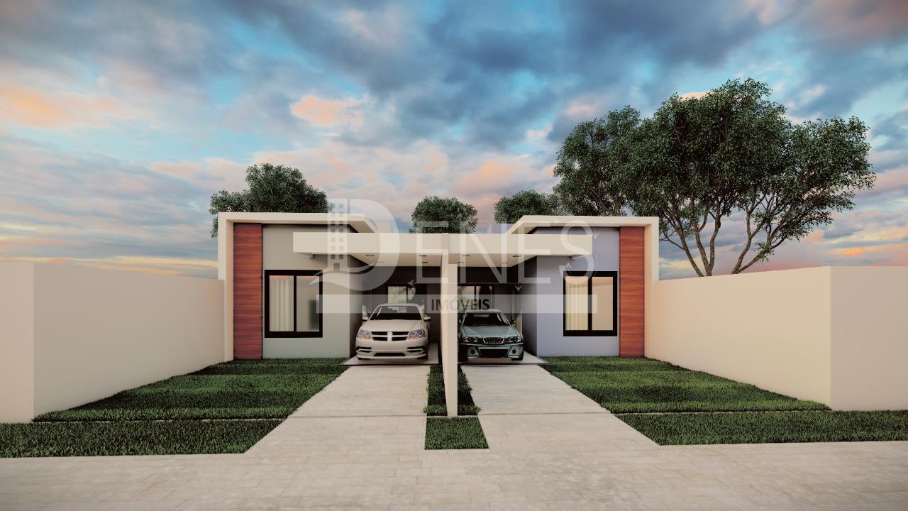 Casa com 2 dormitórios à venda, Loteamento Oreste Vendrame, MEDIANEIRA - PR