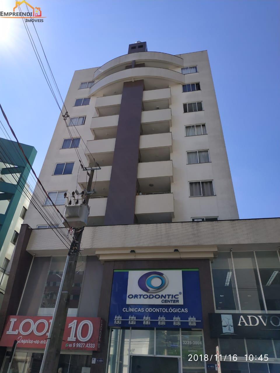 Apartamento com 2 dormitórios para locação, CENTRO, PATO BRANCO - PR