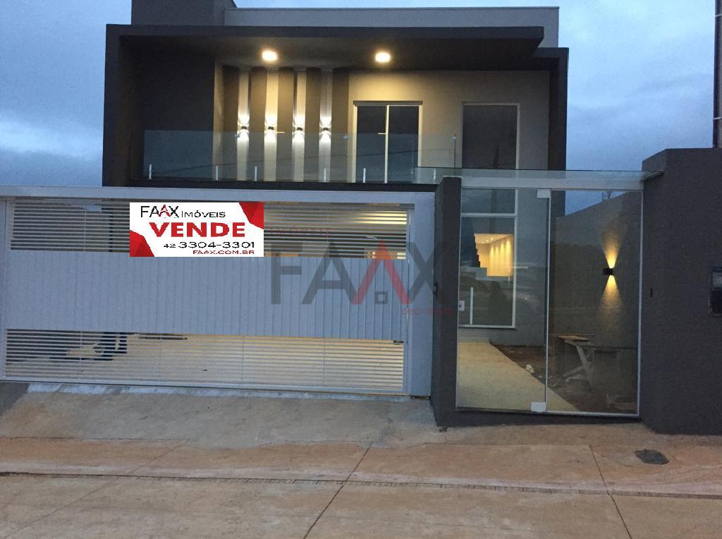 Sobrado com 3 dormitórios à venda,183.44m², GUARAPUAVA - PR