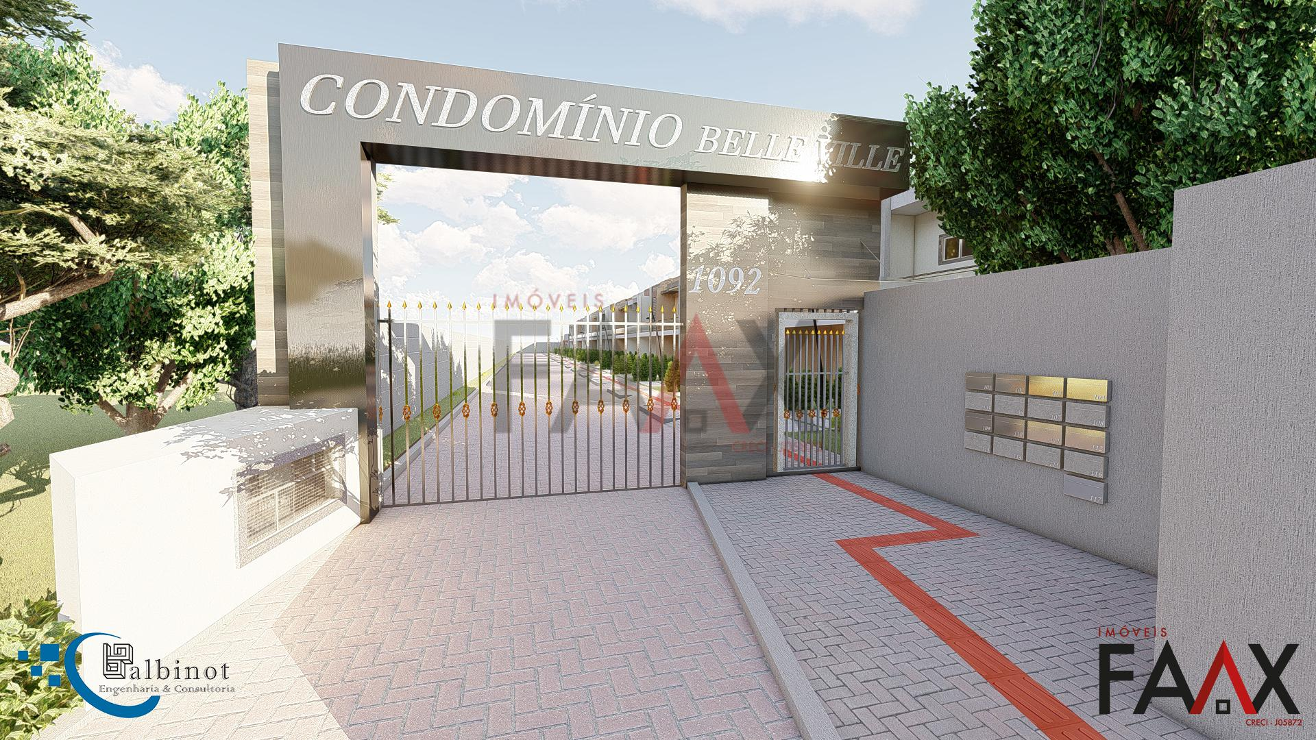 Sobrado com 3 dormitórios à venda,136.67m, MORRO ALTO, GUARAPUAVA - PR