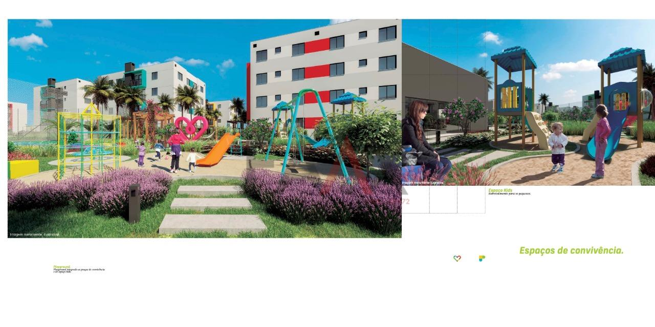 Apartamento com 2 dormitórios à venda, BOQUEIRÃO, GUARAPUAVA - PR