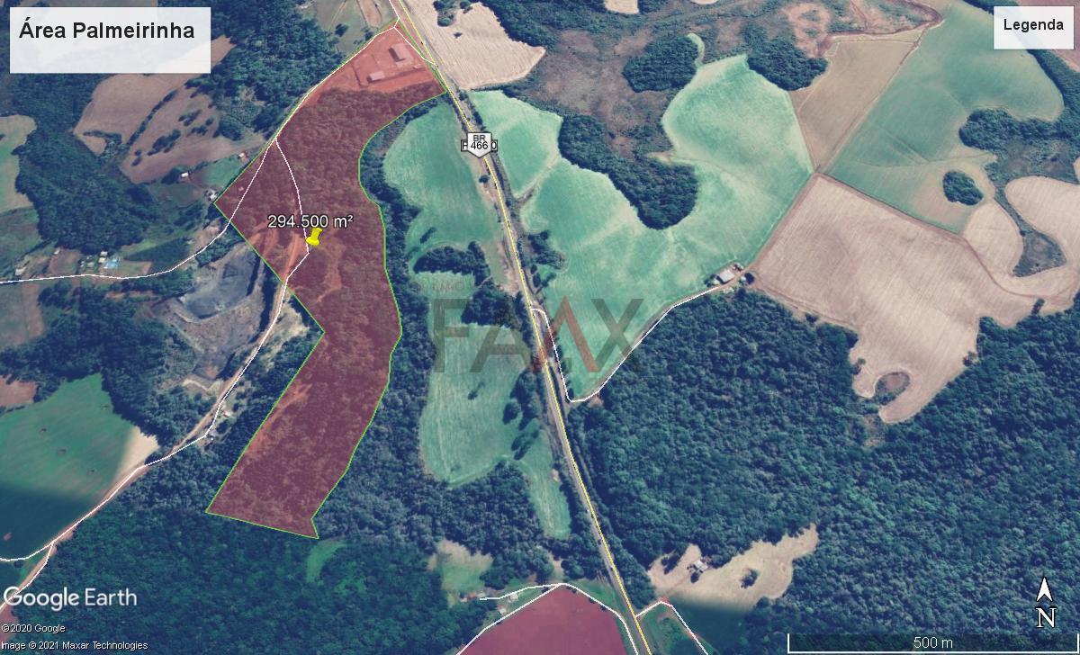 Terreno à venda,230000.00m², PALMEIRINHA, GUARAPUAVA - PR