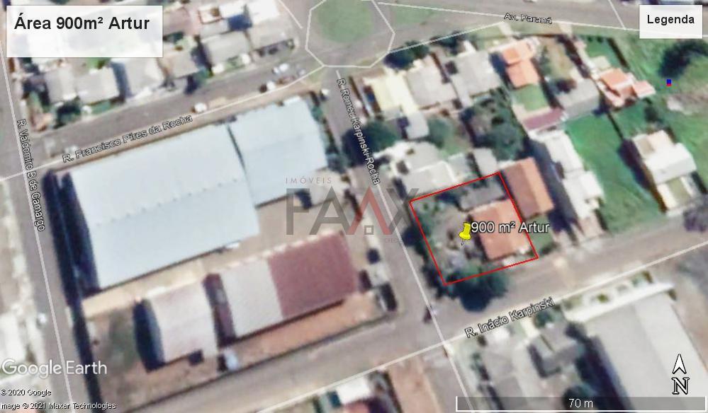 Terreno à venda,900.00m², BONSUCESSO, GUARAPUAVA - PR