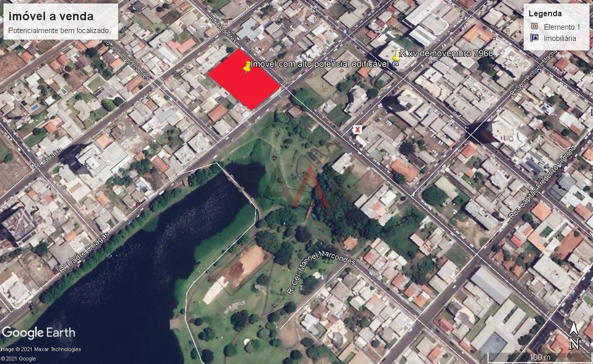 Terreno à venda,2254.14m², BATEL, GUARAPUAVA - PR