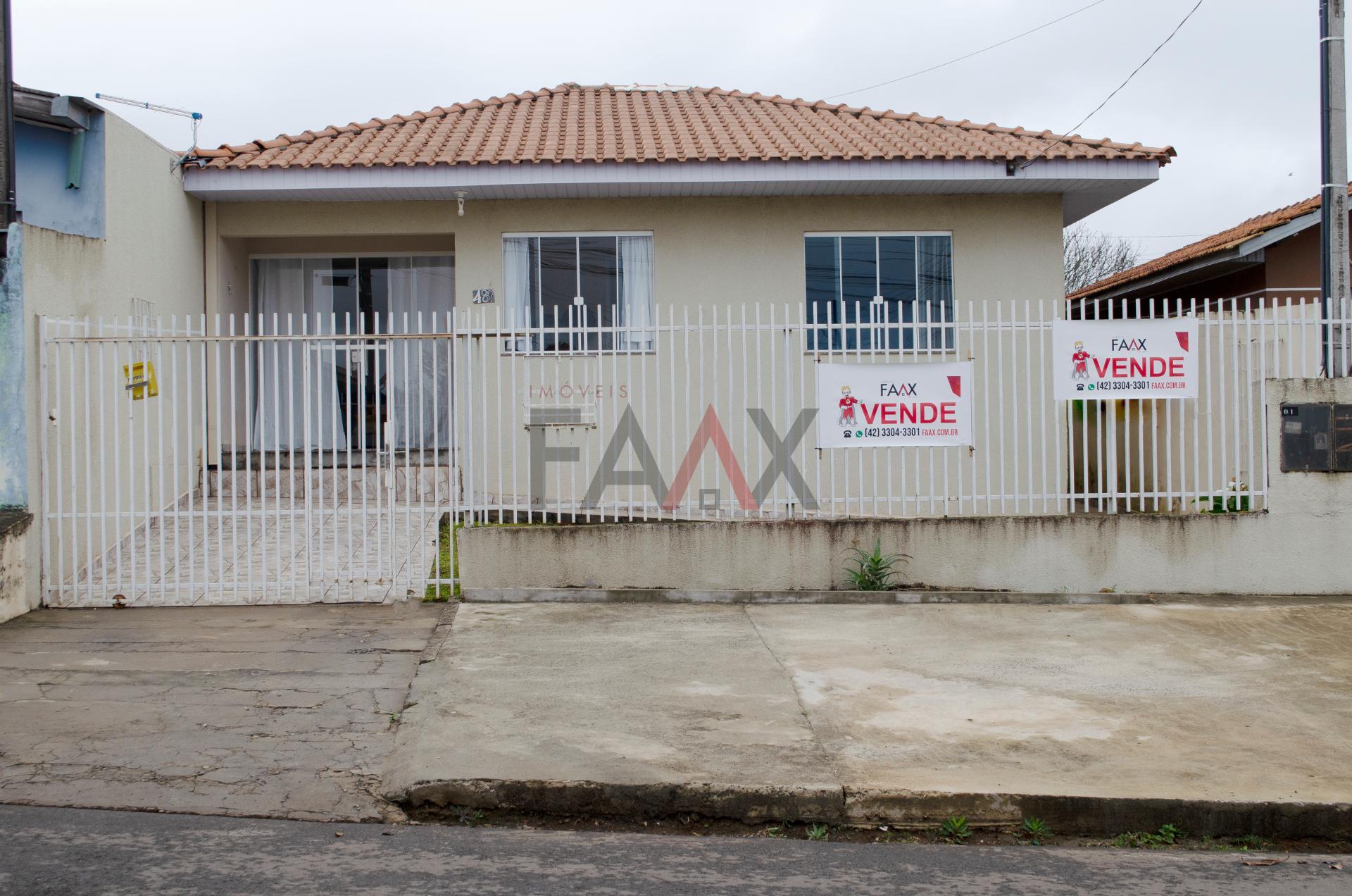 ÓTIMA CASA DE ALVENARIA COM EDÍCULA à venda, BOQUEIRÃO, GUARAPUAVA - PR