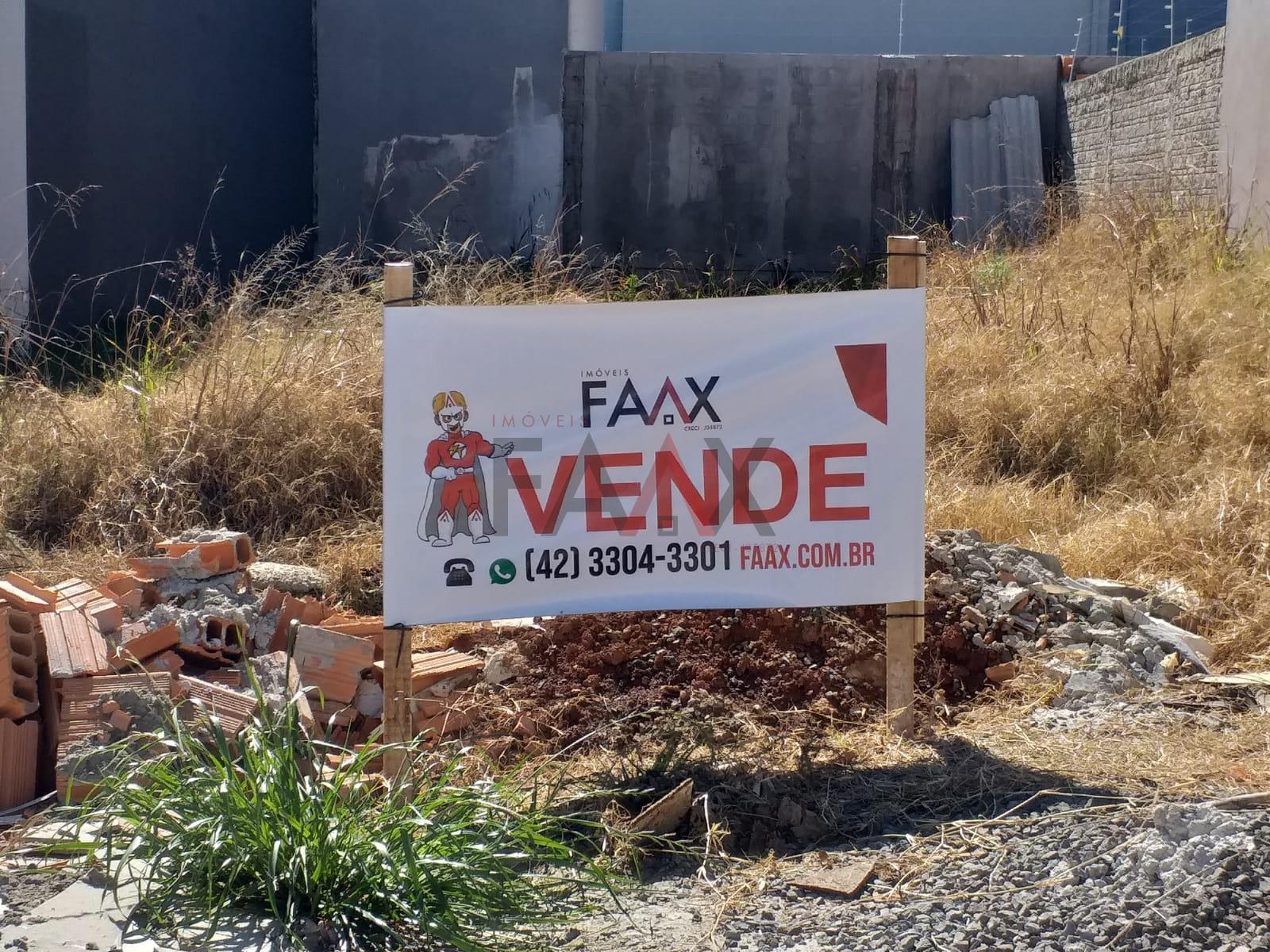 Terreno à venda, medindo 153,14m² em GUARAPUAVA - PR