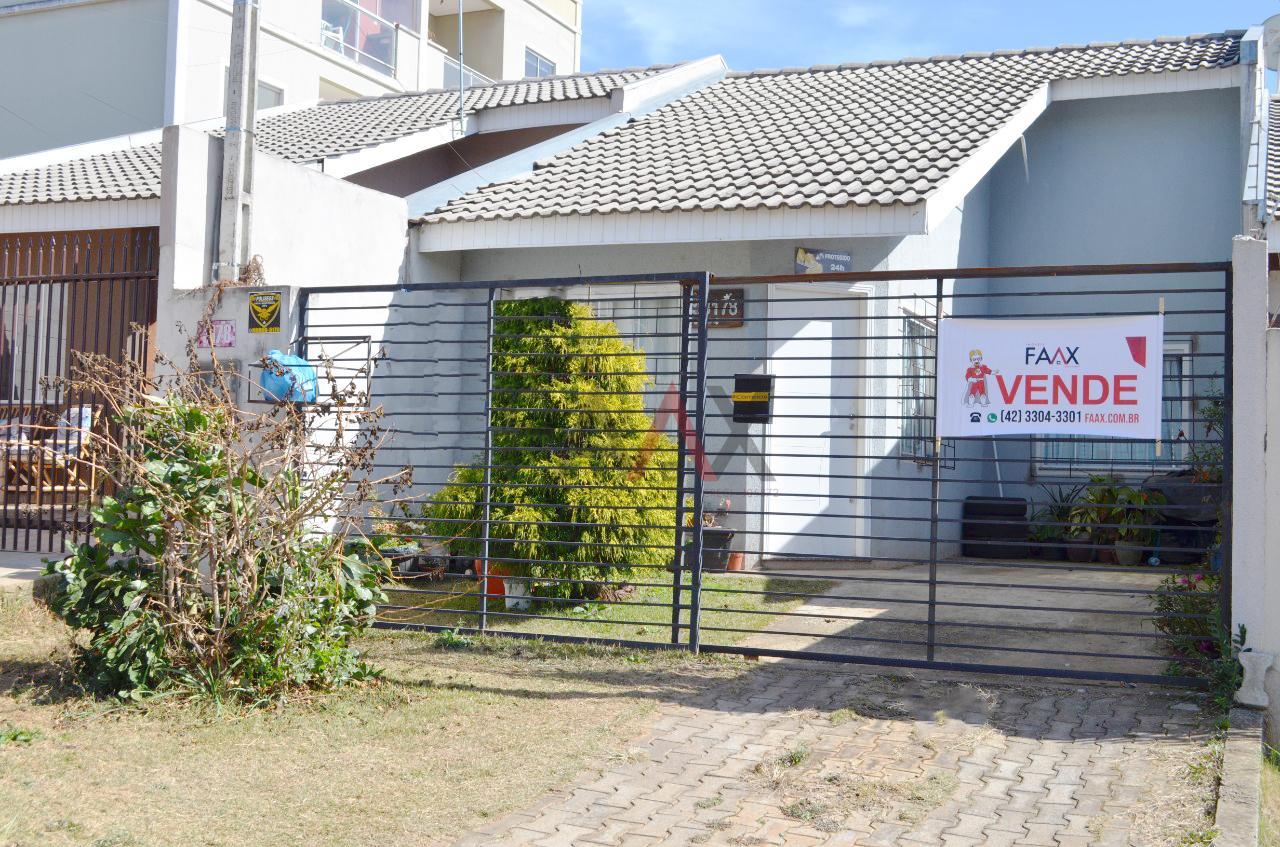 Casa com 3 dormitórios à venda, medindo 156.25m², BOQUEIRÃO, GUARAPUAVA - PR