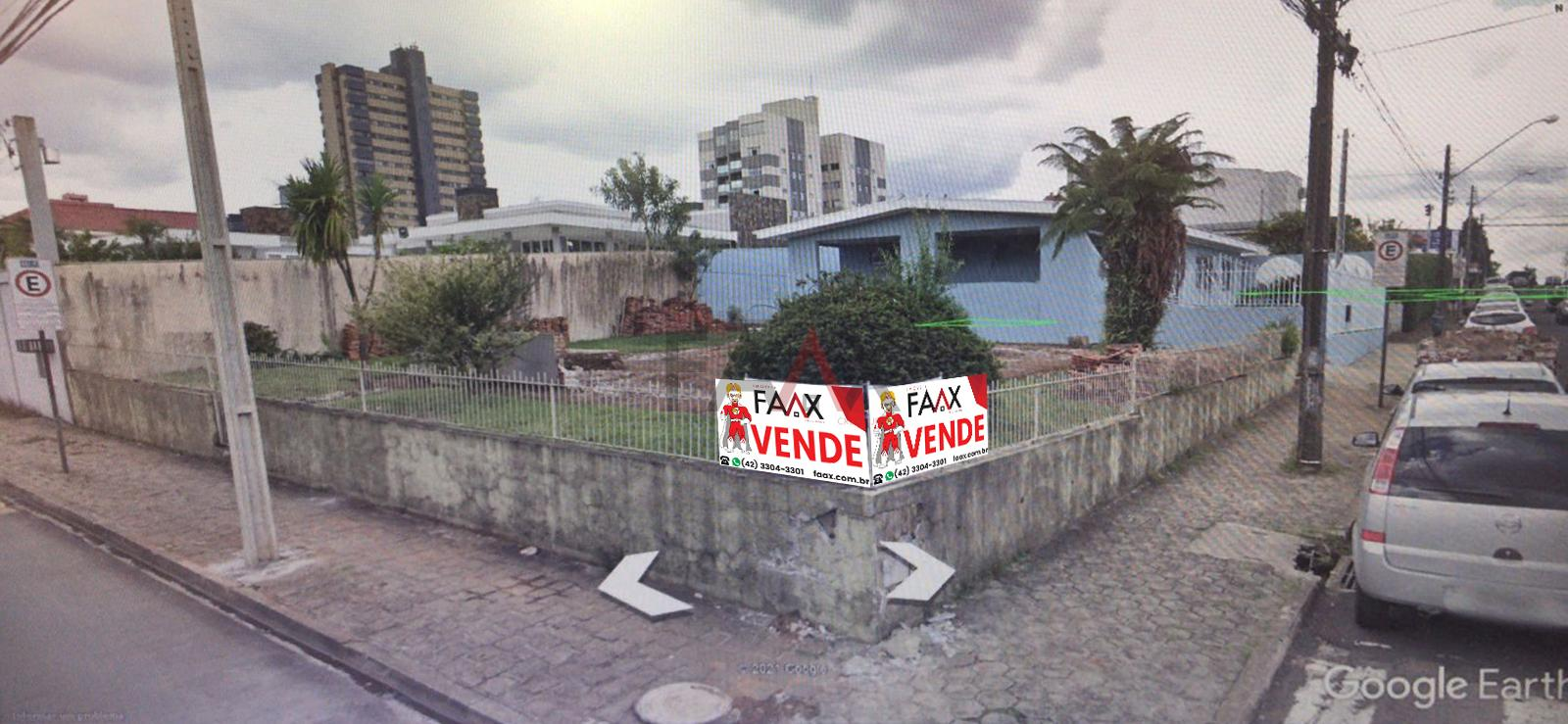 Terreno à venda, CENTRO, GUARAPUAVA - PR