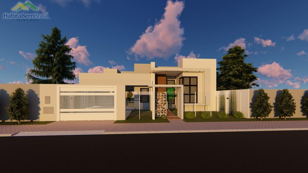 Casa com 3 dormitórios à venda, JARDIM GISELA, TOLEDO - PR