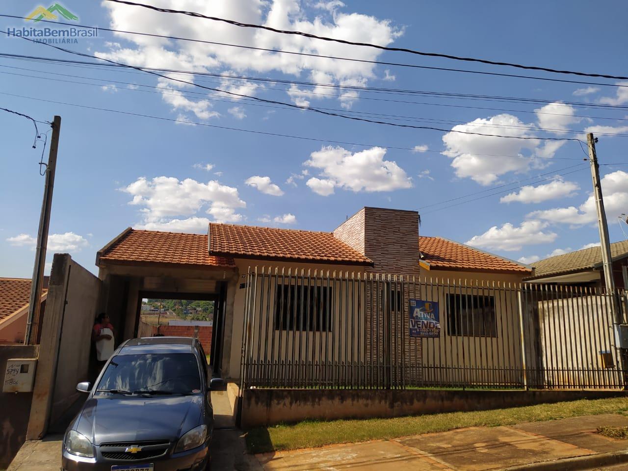 Casa com 1 dormitório à venda, JARDIM BRESSAN, TOLEDO - PR