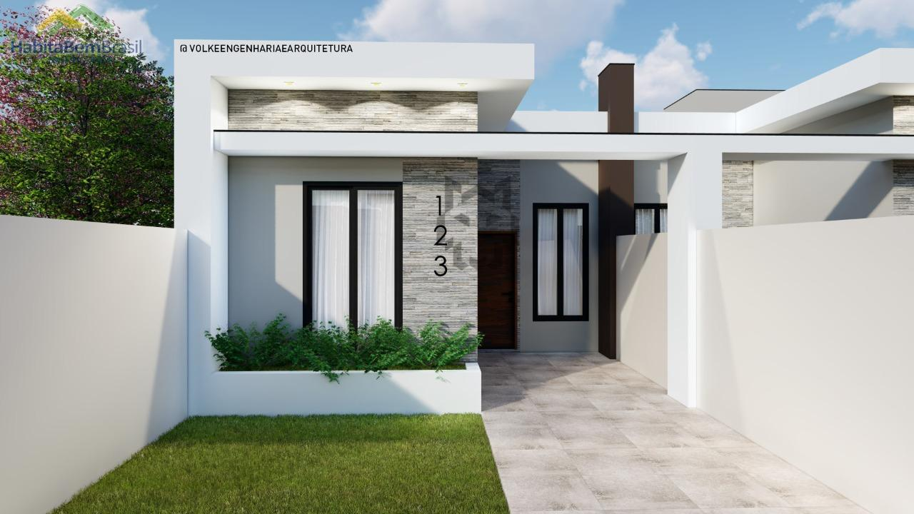Casa com 3 dormitórios à venda, JARDIM BELO HORIZONTE, TOLEDO - PR