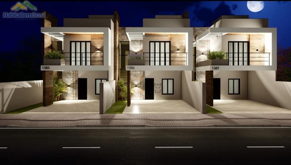 Sobrado com 3 dormitórios à venda,121.00m², VILA INDUSTRIAL, TOLEDO - PR