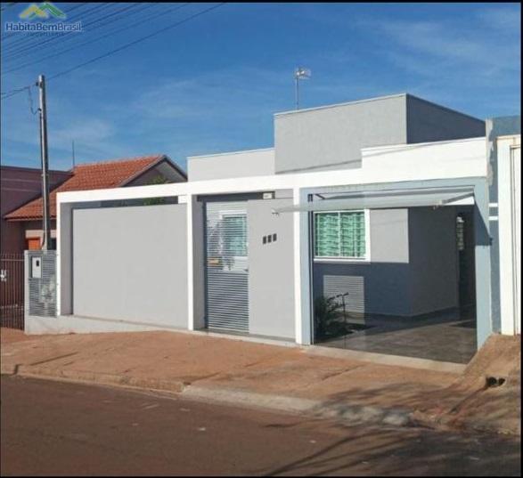 Casa com 2 dormitórios à venda, JARDIM PANORAMA, TOLEDO - PR