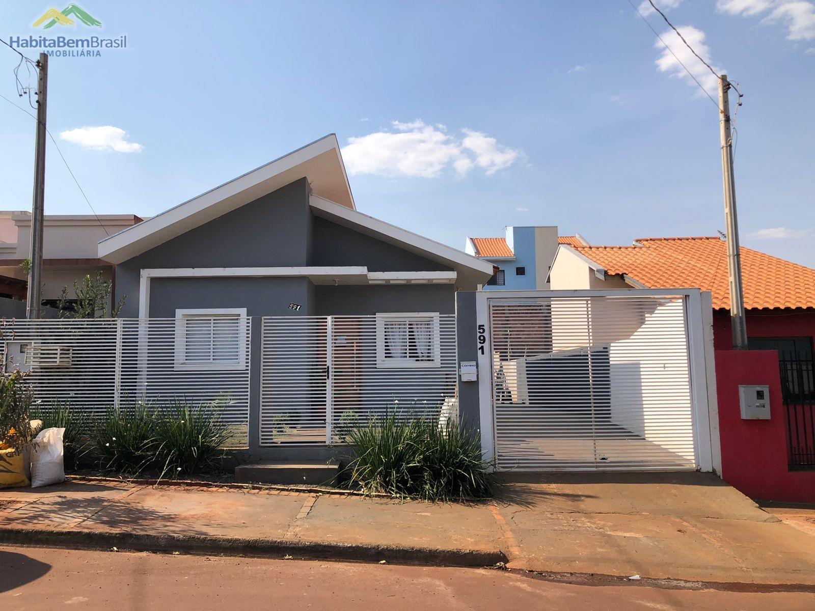 Casa com 3 dormitórios à venda, JARDIM PANORAMA, TOLEDO - PR