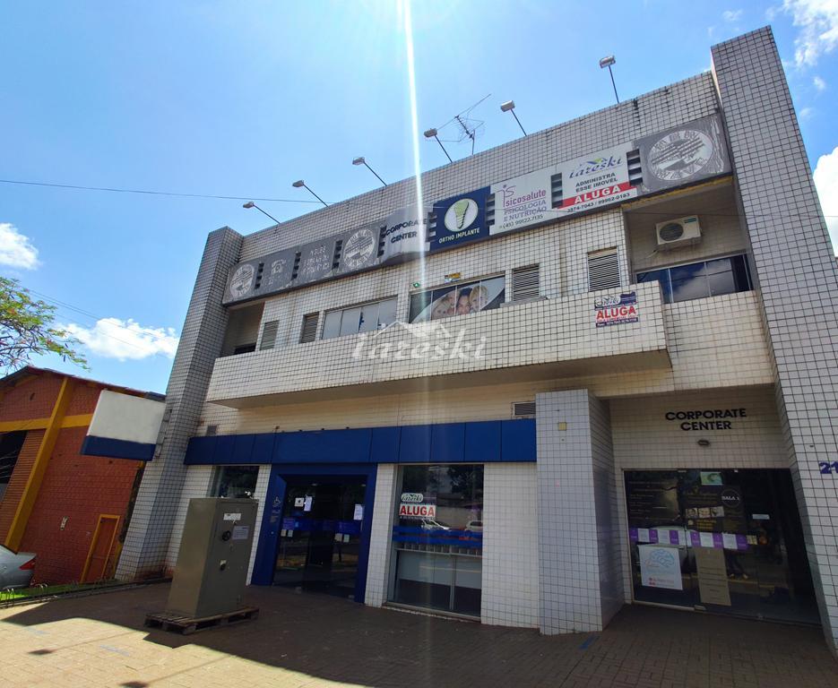 Sala Comercial com 220m² para locação na Vila A em Foz do Iguaçu/PR
