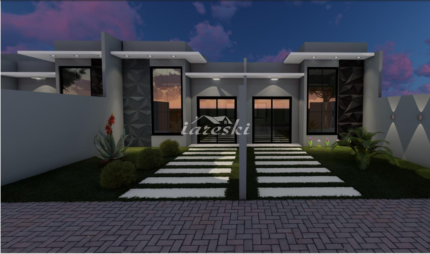 Casa com 2 dormitórios à venda, Jardim Universitário em Foz do...