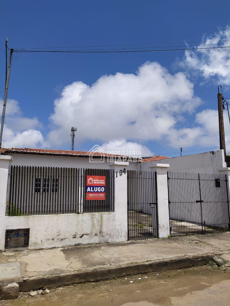 CASA TÉRREA PARA LOCAÇÃO BAIRRO CRUZEIRO