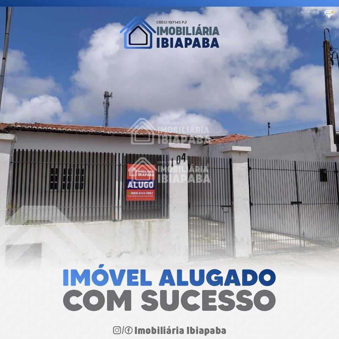 ALUGADA!!! CASA TÉRREA PARA LOCAÇÃO BAIRRO CRUZEIRO