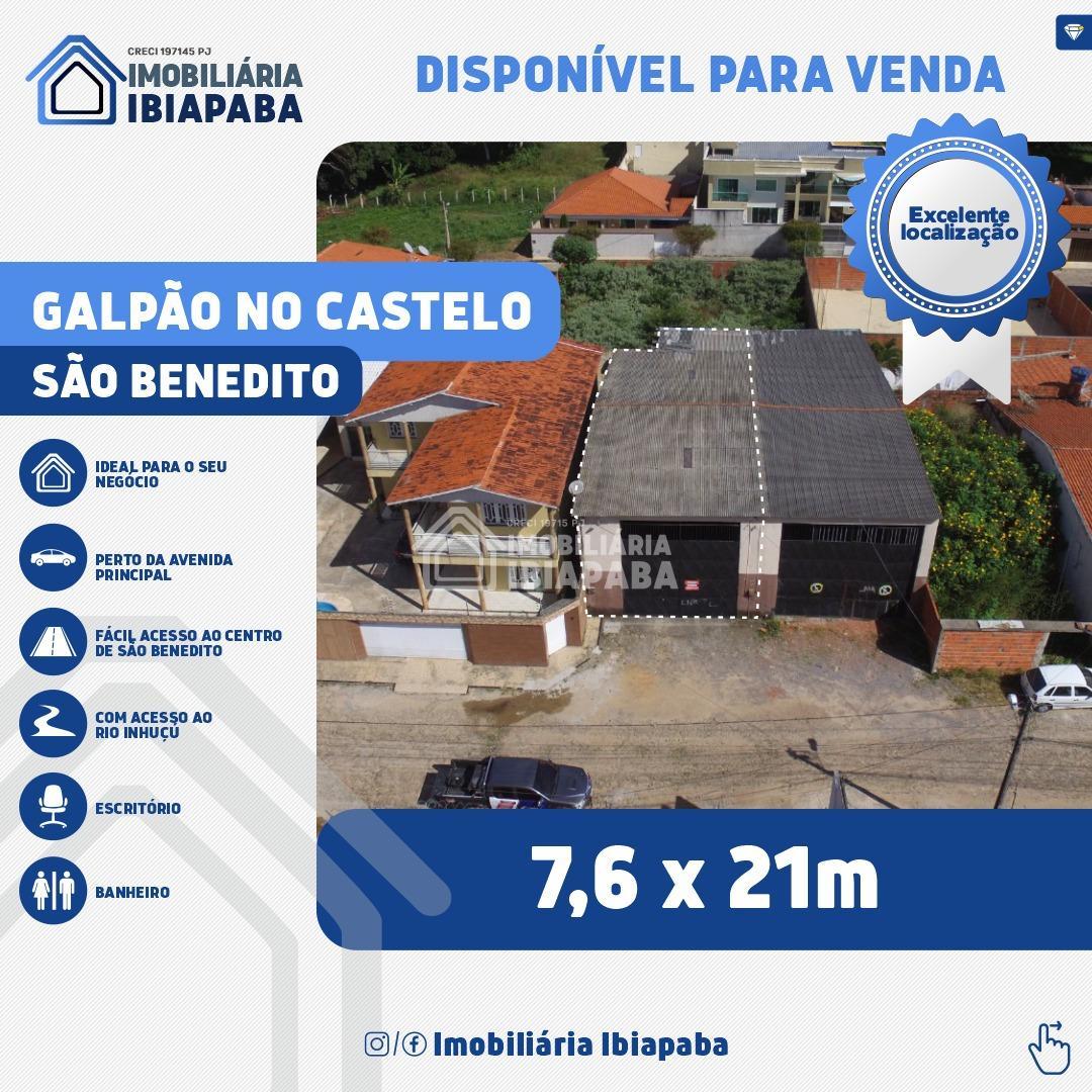 GALPÃO A VENDA NO BAIRRO CASTELO