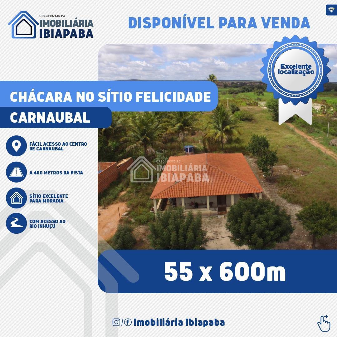 SÍTIO FELICIDADE - CHÁCARA