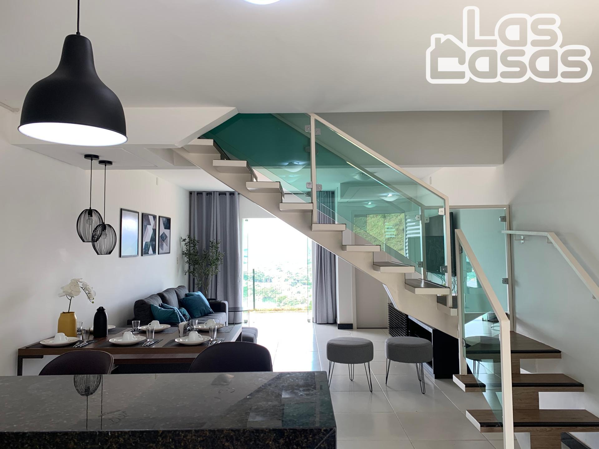 Casa Geminada com 2 suítes, ESCARPAS DO LAGO, CAPITÓLIO - MG