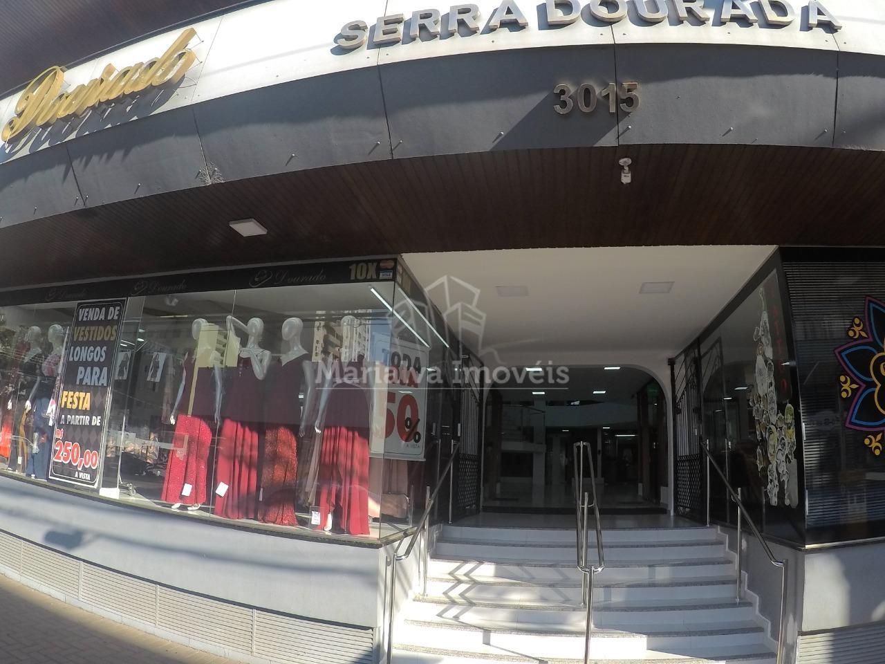 EXCELENTE SALA COMERCIAL NO EDIFÍCO SERRA DOURADA - CENTRO