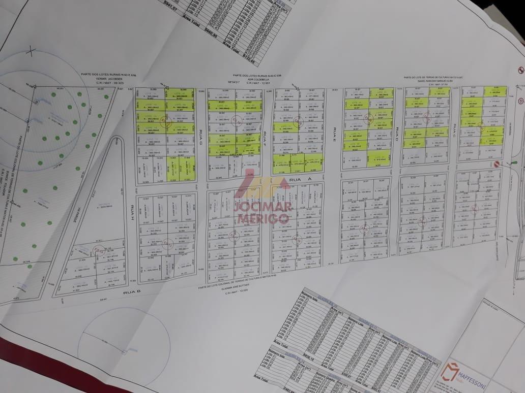 Terrenos à venda no Loteamento São Frsncisco, SAO LOURENCO DO OESTE - SC