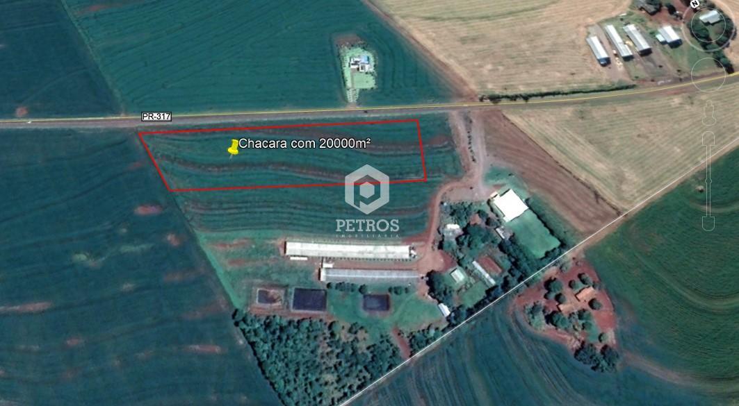CHÁCARA COM 20.000M² - LINHA SANGA FUNDA
