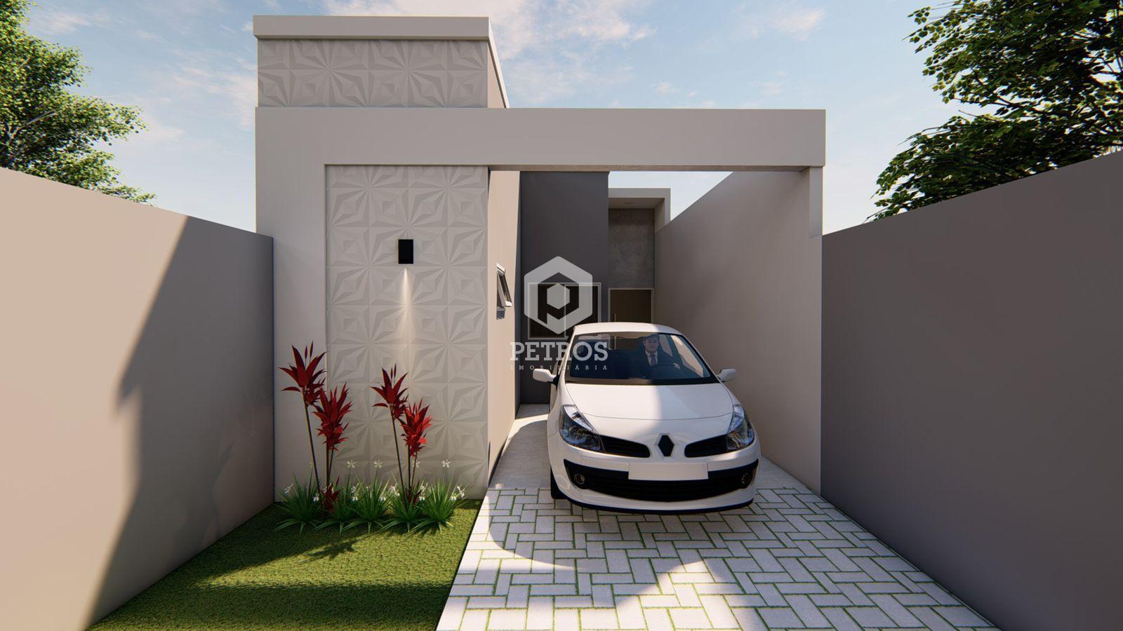 Casa localizada no Loteamento Santo Ângelo- Jardim Coopagro.