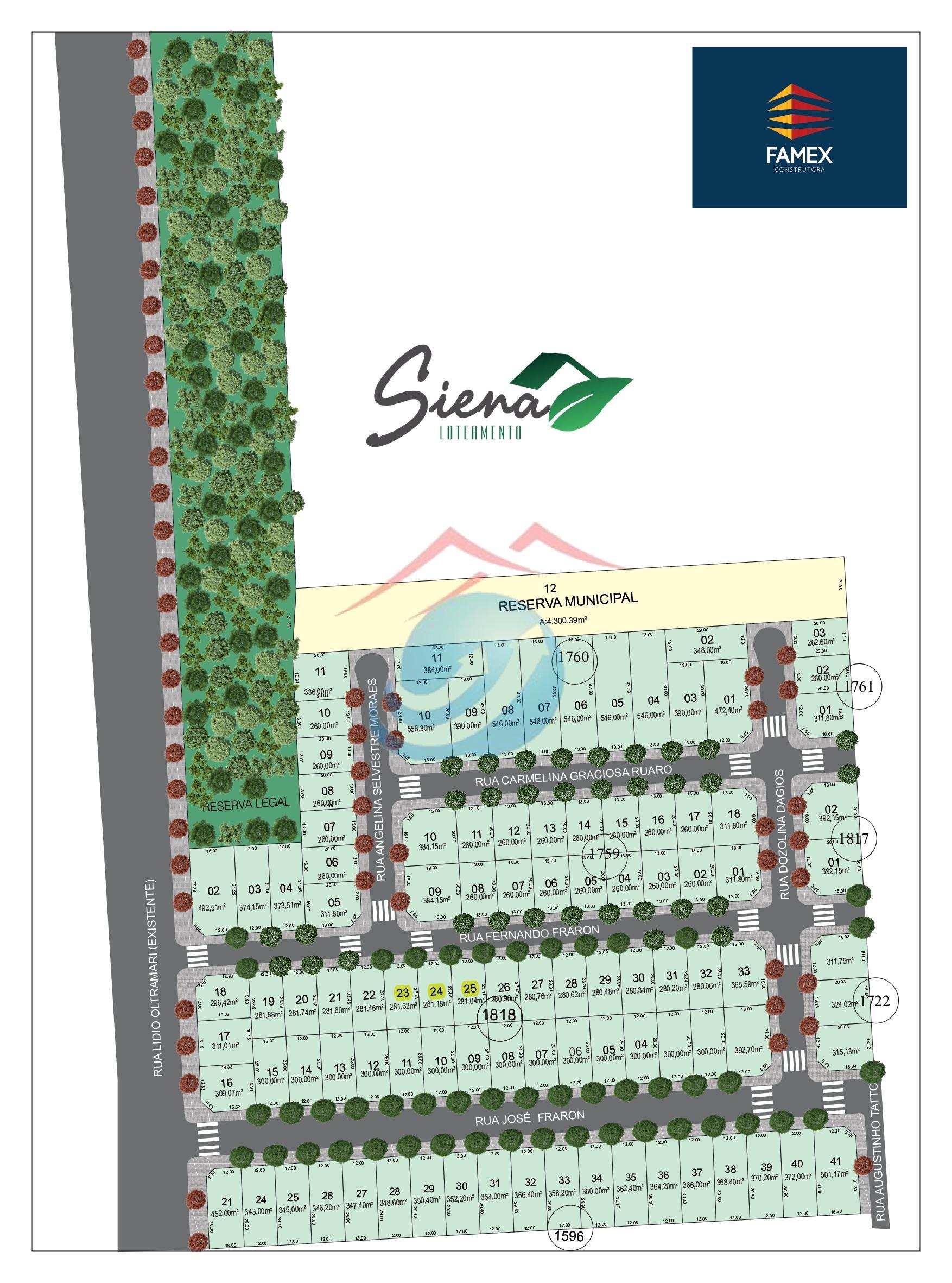 Terreno à venda,  , PATO BRANCO - PR