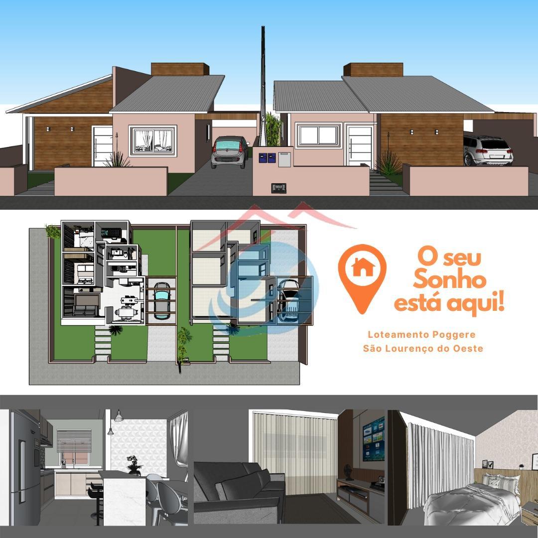 Casa à venda, nova , SAO LOURENCO DO OESTE - SC