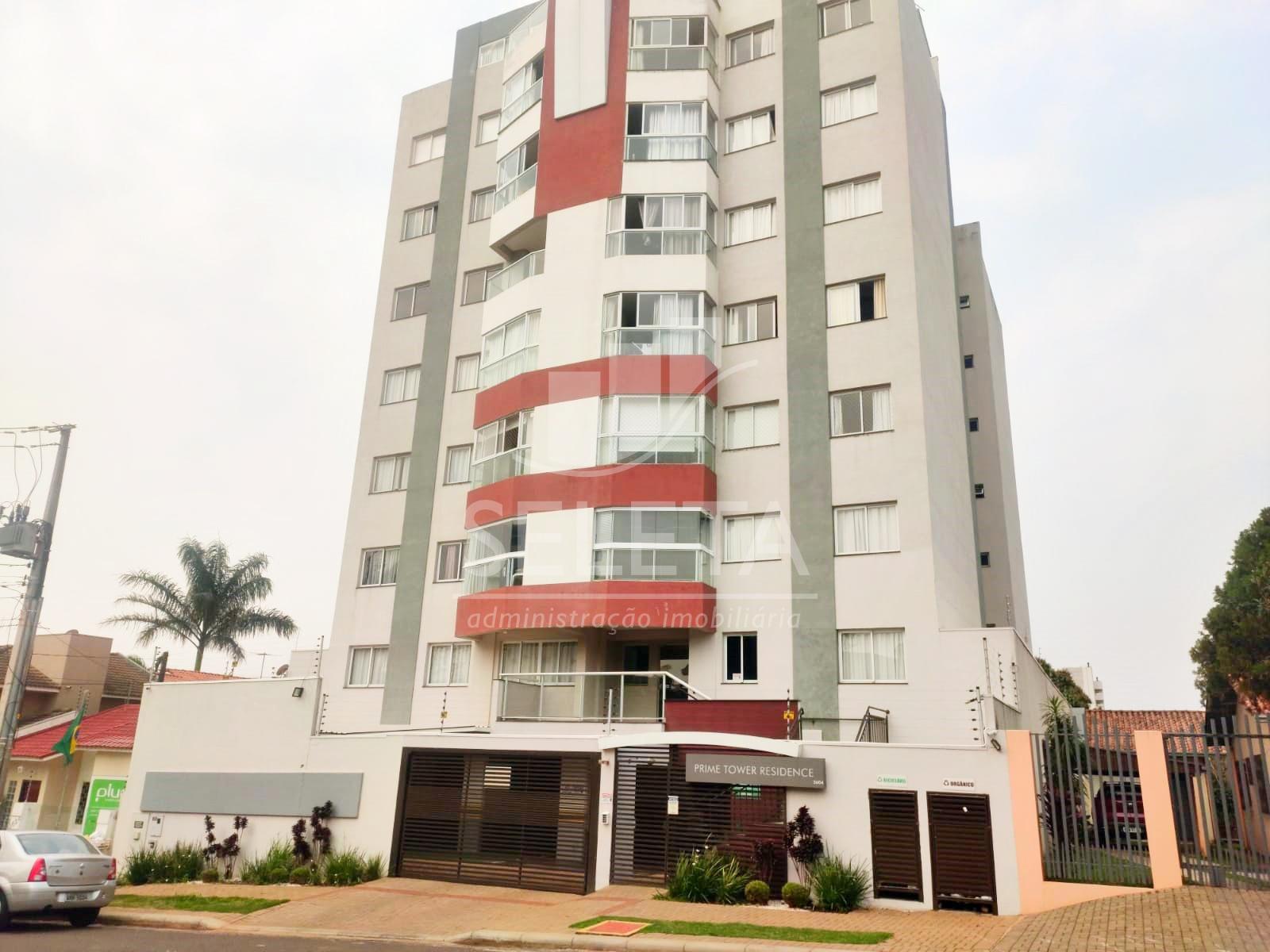 Apartamento com 2 dormitórios para locação, CENTRO, CASCAVEL - PR