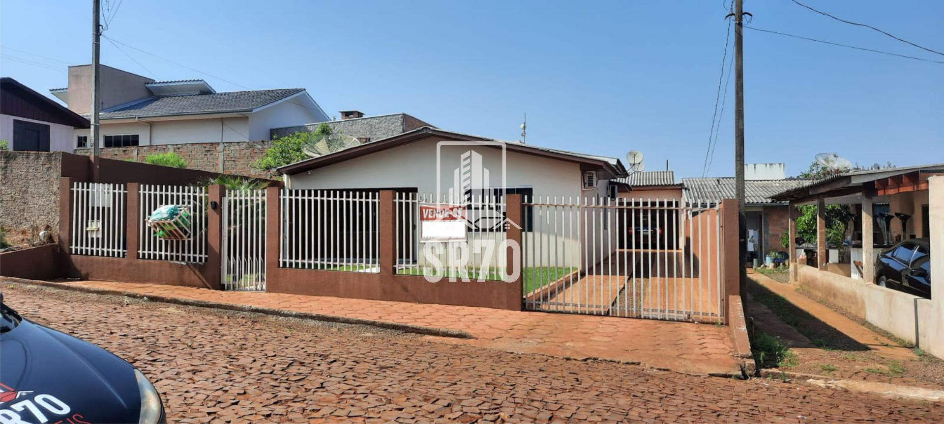 Casa com 2 dormitórios à venda, JARDIM FLORESTA, QUEDAS DO IGUACU - PR