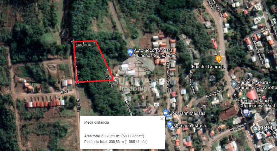 CHÁCARA COM ÁREA DE 6.300 m² NO BAIRRO DAS NAÇÕES
