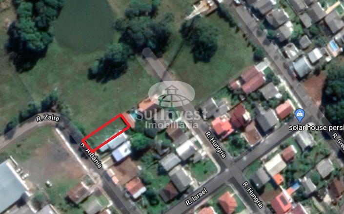 Lote urbano de 414,37m² em Concórdia/SC