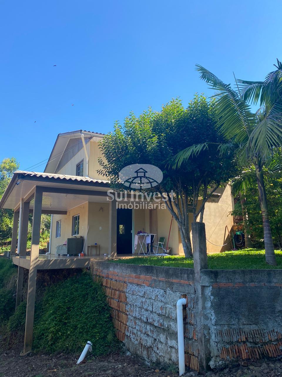Casa + Barracão para venda em Linha Adolfo Konder, Itá.