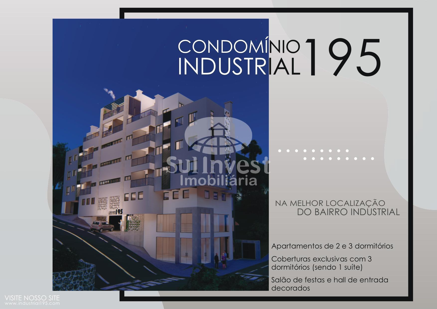 Apartamento novo à venda no Bairro Industrial