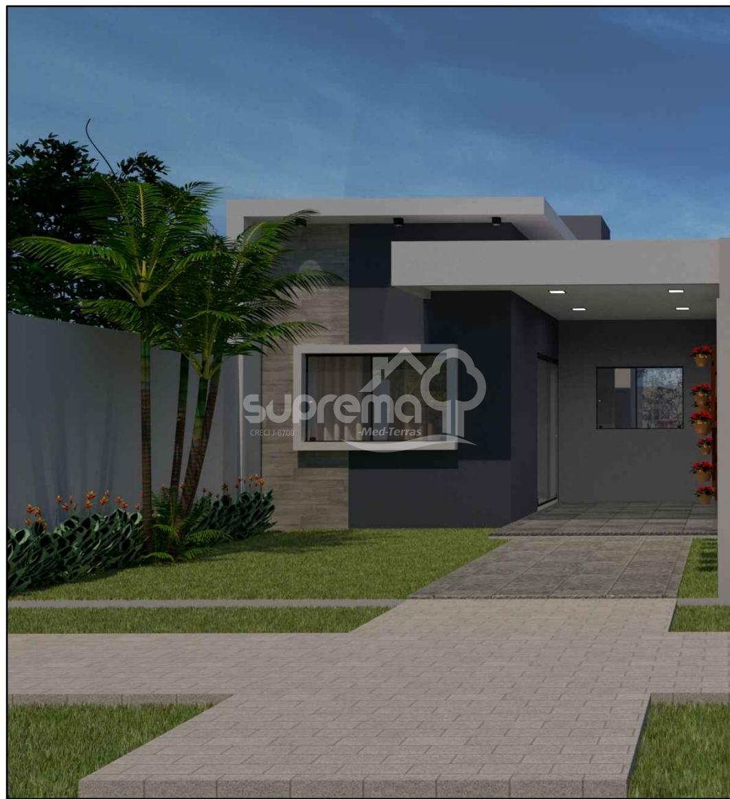 Casa geminada 01 - Lot. Vila Verde