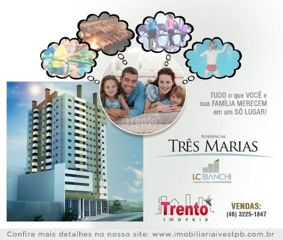 SALA COMERCIAL TÉRREA COM MEZANINO Nº 03 - EDIFÍCIO TRÊS MARIAS - PATO BRANCO/PR