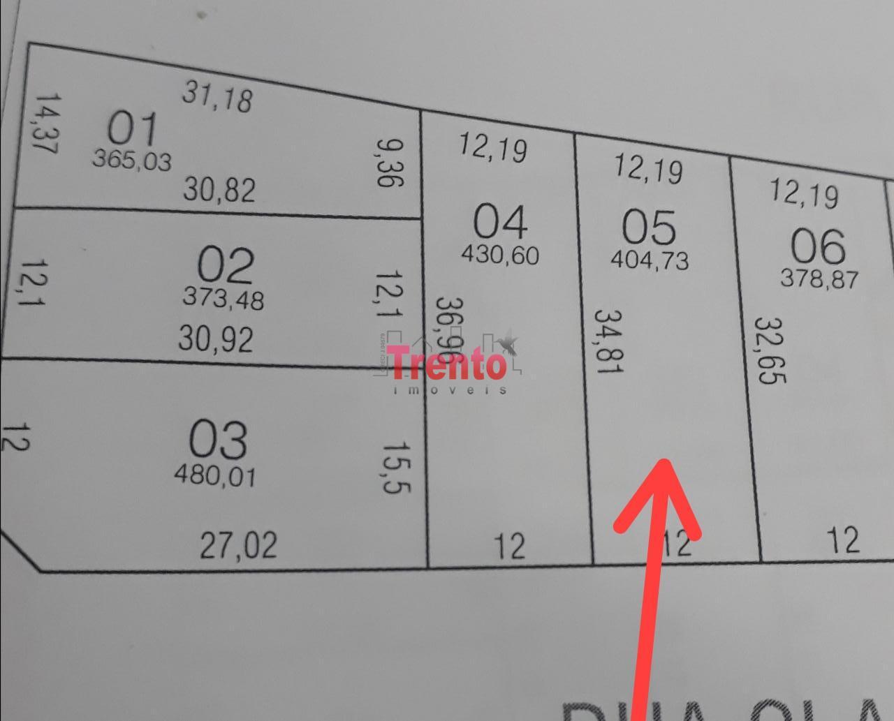 TERRENO BAIRRO ALVORADA COM ÁREA DE 404,73M² - PATO BRANCO/PR