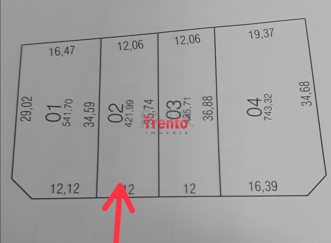 TERRENO BAIRRO ALVORADA COM ÁREA DE 421,99M² - PATO BRANCO/PR