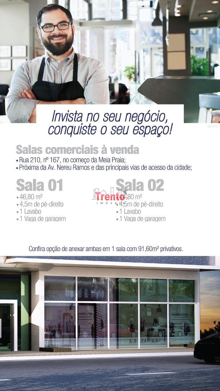 SALA COMERCIAL EM MEIA PRAIA - ITAPEMA. - ITAPEMA/SC