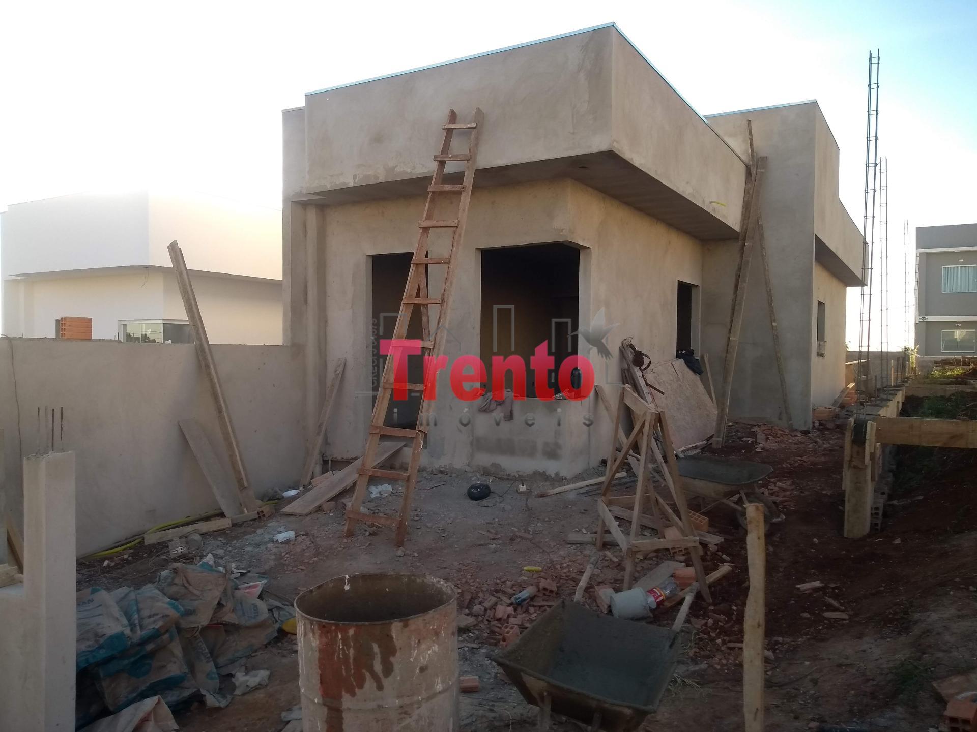 CASA Nº 02 COM LAJE EM FASE DE CONSTRUÇÃO - PATO BRANCO/PR