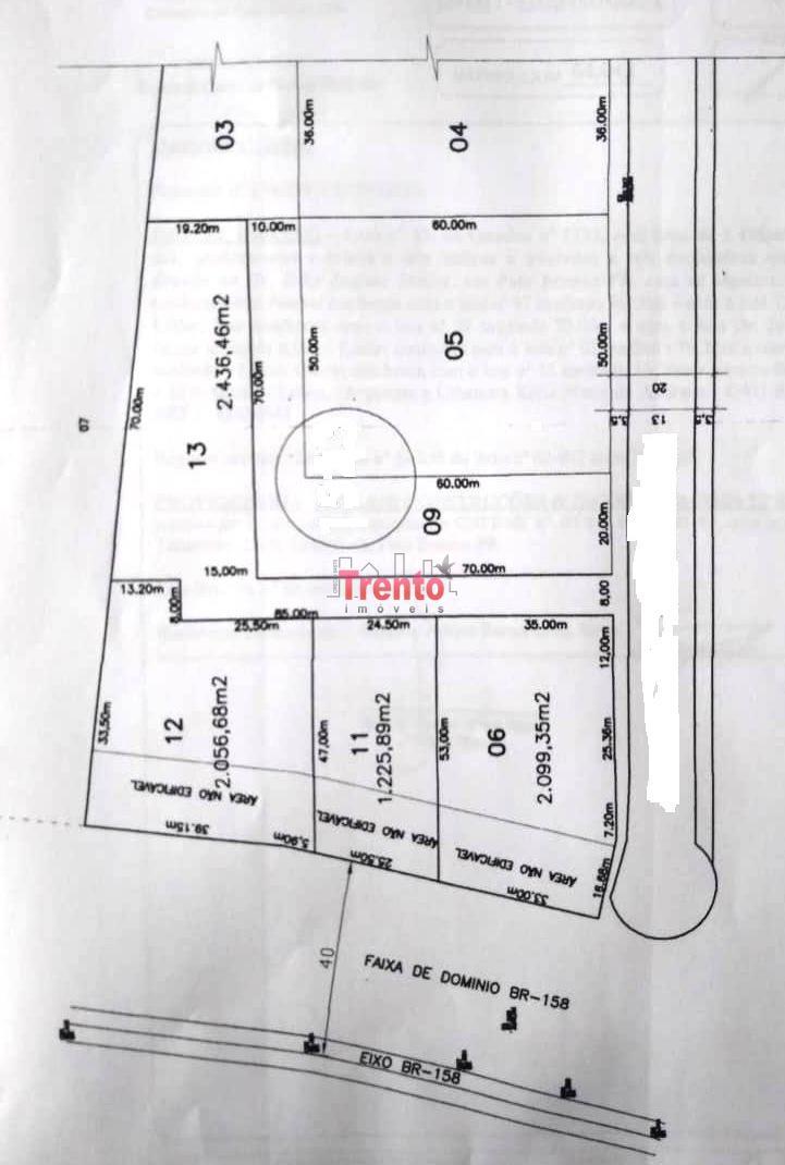 TERRENOS FRENTE PARA BR 158 - PATO BRANCO/PR