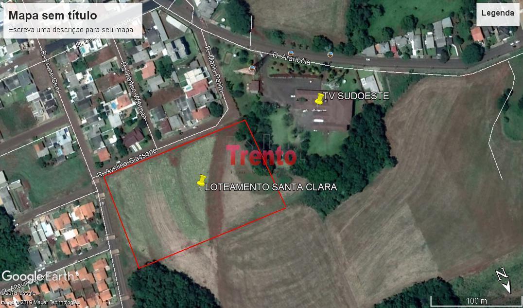 LOTEAMENTO PARQUE SANTA CLARA - BAIRRO - PARQUE DO SOM - PATO BRANCO/PR