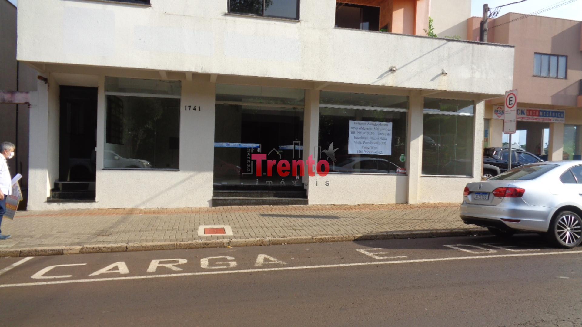 SALA COMERCIAL COM PAVIMENTO TÉRREO E SUBSOLO - PATO BRANCO/PR
