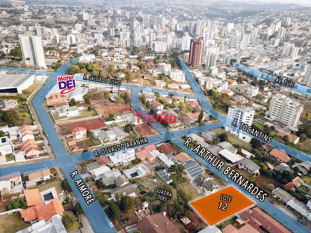 TERRENO EM  LOCALIZAÇÃO NOBRE, BAIRRO BRASÍLIA, PATO BRANCO - PR - PATO BRANCO/PR
