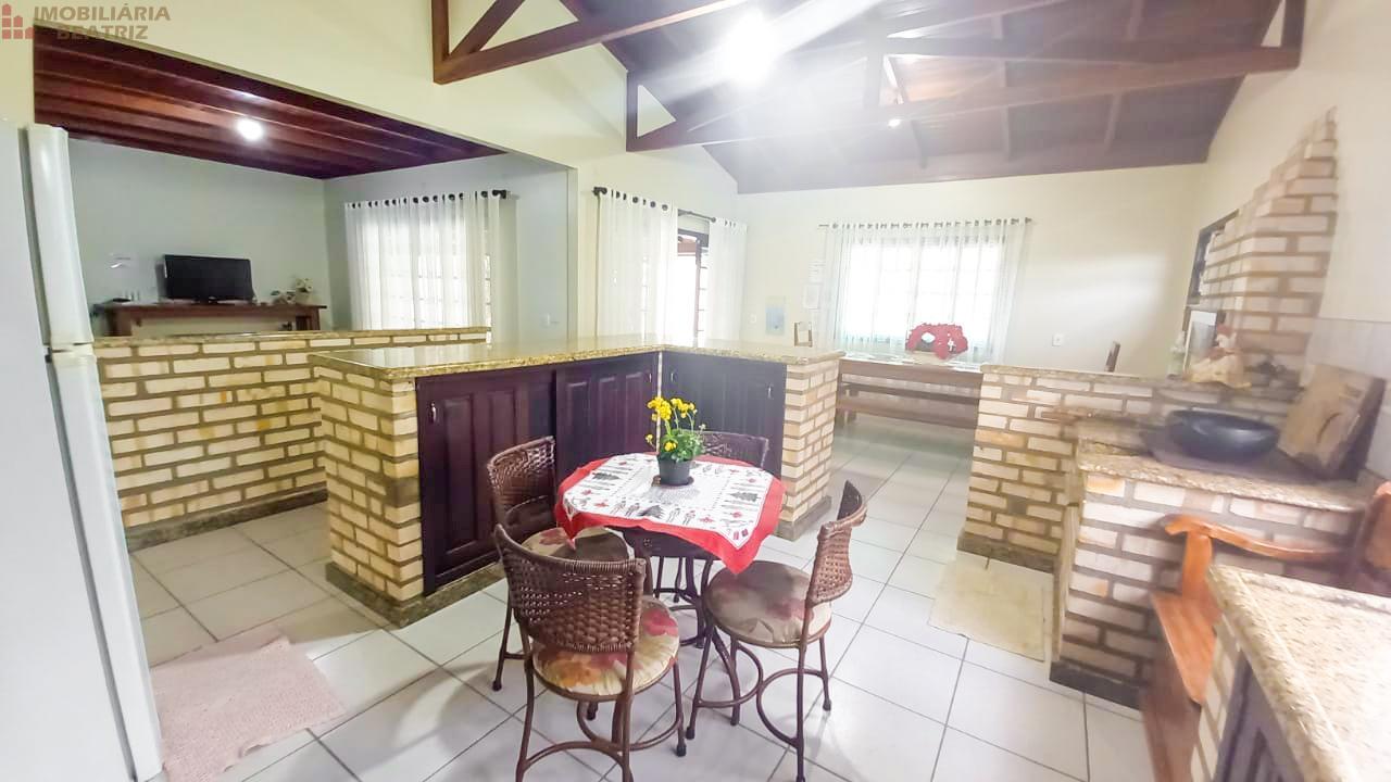 Cozinha e espaço gourmet